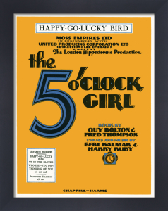 Happy-Go-Lucky Bird (The 5 O'Clock Girl) by Anonymous