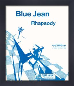 Blue Jean Rhapsody by Anonymous