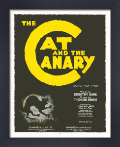 The Cat and the Canary by Anonymous