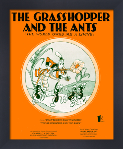 The Grasshopper and the Ants by Anonymous