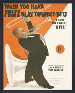 When You Hear Fritz Play Twiddly-Bits by Anonymous