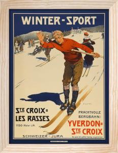 Winter-Sport Switzerland, 1905 by Edouard Eizingre