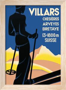 Villars, 1934 by Johannes Handschin