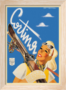 Cortina d'Ampezzo, 1947 by Franz Lenhart