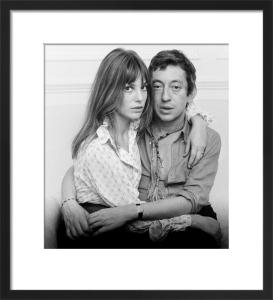 Jane Birkin and Serge Gainsbourg by Mirrorpix