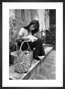 Jane Birkin shopping in Paris by Mirrorpix