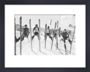 British Ski Team 1976 by Anonymous
