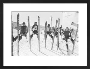 British Ski Team 1976 by Mirrorpix