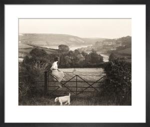 Devon estuary by Anonymous