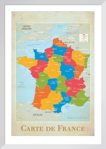 France - Map by Anonymous