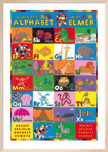 Elmer - Alphabet by Anonymous