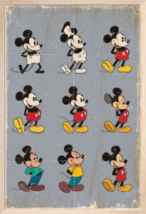 Mickey Mouse - Evolution by Disney
