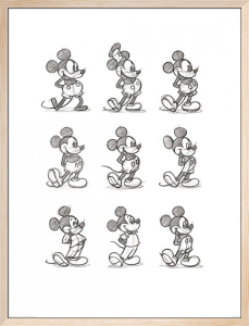 Mickey Mouse - Sketched Multi by Disney