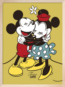 Mickey and Minnie Mouse - True Love by Disney