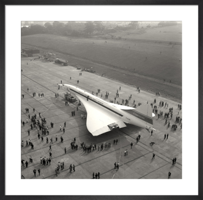 Concorde roll out 4 by Anonymous