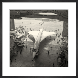 Concorde roll out 1 by Anonymous