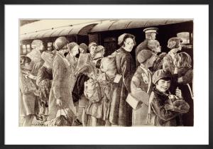 The Evacuation of Children, 1940 by Ethel Leontine Gabain