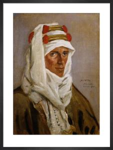 Lieutenant-Colonel T E Lawrence, CB, DSO, 1918 by James McBey