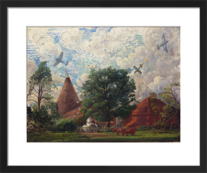 Tempests Attacking Flying-bombs by Sir Walter Thomas Monnington