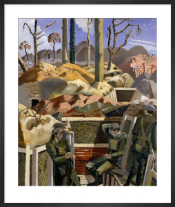 Spring in the Trenches, Ridge Wood, 1917 by Paul Nash