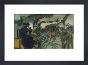 A Battery Shelled by Percy Wyndham Lewis