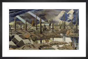 The Menin Road by Paul Nash