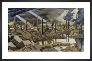 The Menin Road by Paul Nash