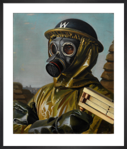 Gas Mask by William Ramsden Brealey