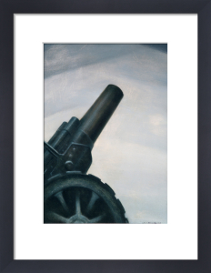 A Howitzer Gun in Elevation by Christopher Richard Wynne Nevinson