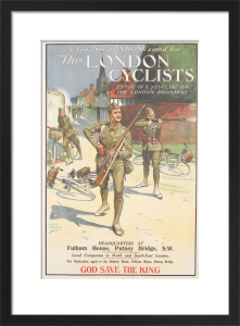 The London Cyclists by Ernest Ibbetson