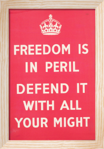 Freedom is in Peril - Defend It with All Your Might by Anonymous