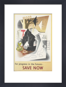 For Progress in the Future - Save Now by Eric Fraser