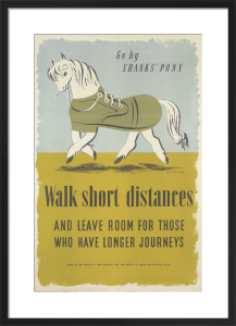 Go by Shanks' Pony - Walk Short Distances by George Him & Jan Le Witt-Him
