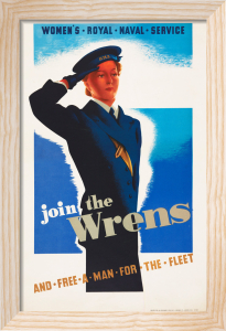 Join the Wrens - and Free a Man for the Fleet by Anonymous