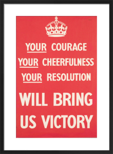 Your Courage, Your Cheerfulness, Your Resolution by Anonymous