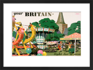 Your Britain - Fight for it Now (Alfriston Fair) by Frank Newbould