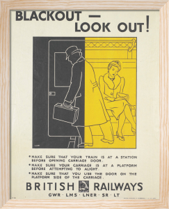 Blackout - Look Out! (British Railways) by L A W