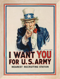 I Want You for US Army by James Montgomery Flagg