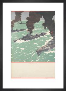 Untitled (War Savings are Warships) by Norman Wilkinson