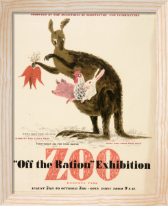 Off the Ration Exhibition - Regents Park Zoo by George Him & Jan Le Witt-Him