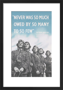 Never Was So Much Owed by So Many to So Few by Anonymous
