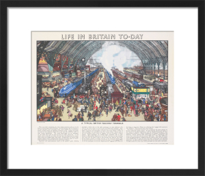 Life in Britain Today - Railway Terminus by Grace Lydia Golden