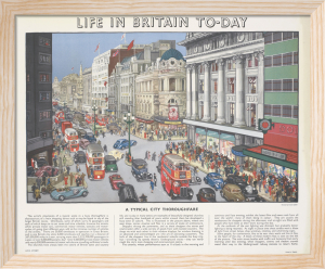 Life in Britain Today - City Thoroughfare by Grace Lydia Golden