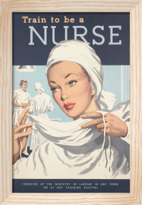 Train to be a Nurse by Rix