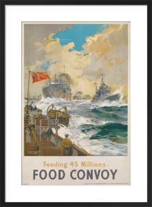 Feeding 45 Millions - Food Convoy by Frank Mason