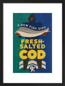 A New Fish Dish - Fresh-Salted Cod by Anonymous