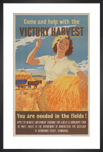Come and Help with the Victory Harvest by Anonymous