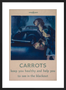 Carrots Keep You Healthy by Anonymous