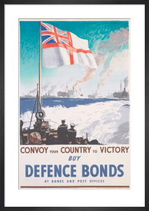 Convoy Your Country to Victory - Buy Defence Bonds by Rowland Hilder