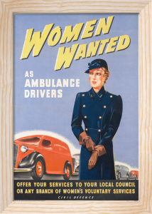 Women Wanted - as Ambulance Drivers by Anonymous